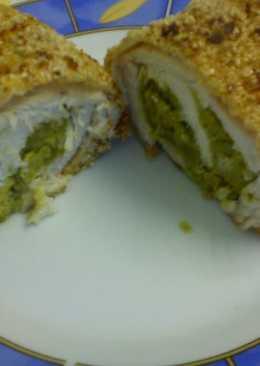 Szezámmagos-zöldborsós csirkemell