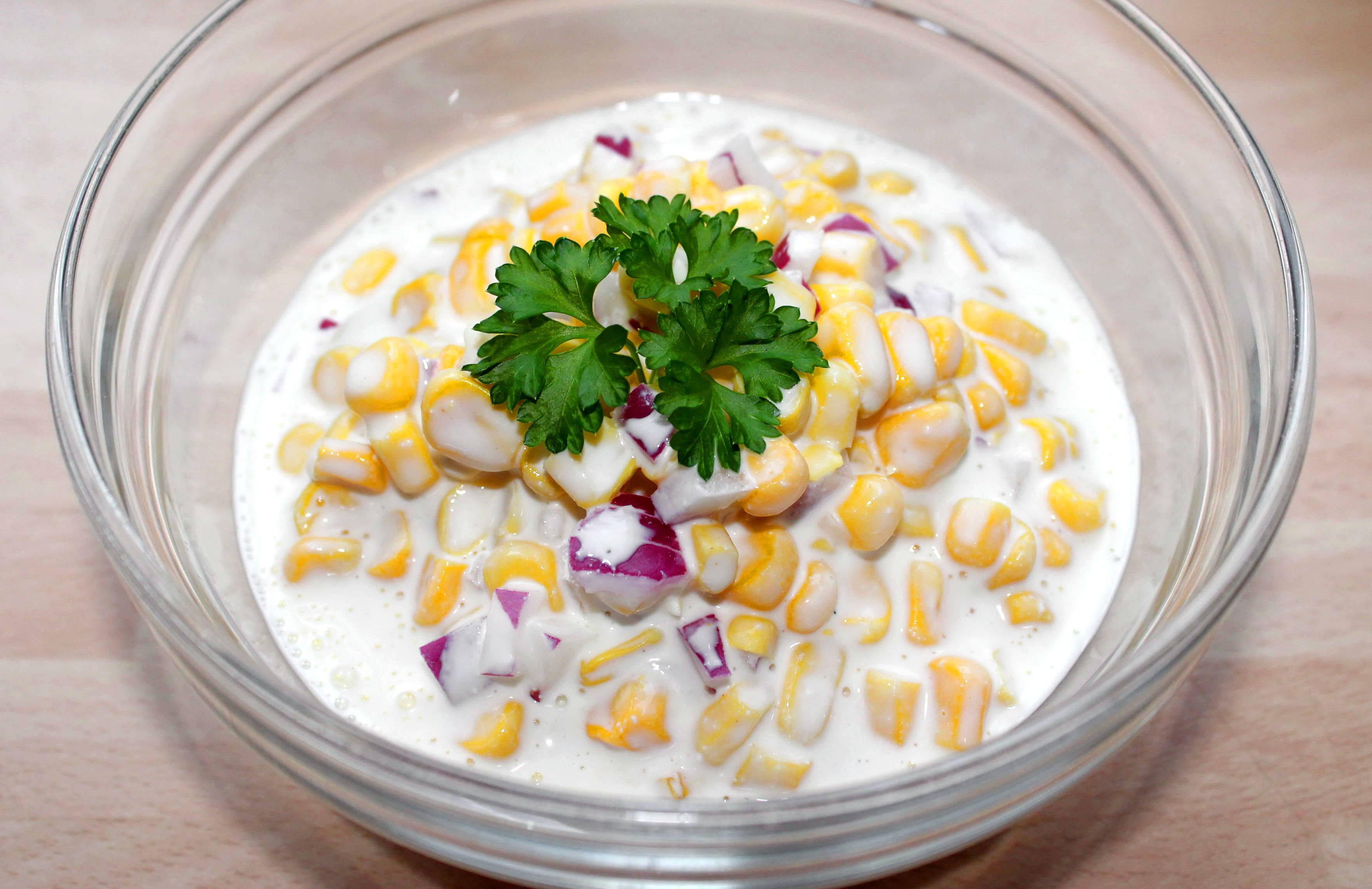 Majonézes kukoricasaláta recept főfotó