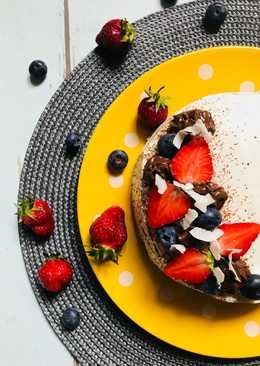 Epres csoki mousse torta