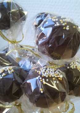 Csokis-banános cake pop