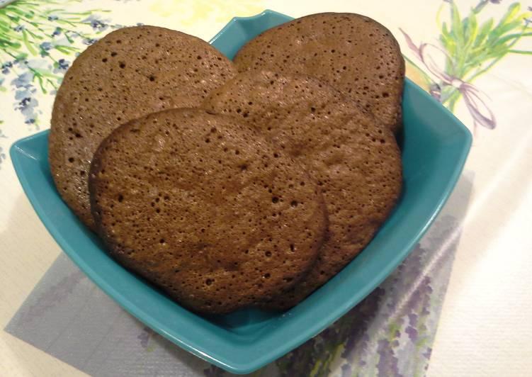 Francia csokis-mogyorós keksz