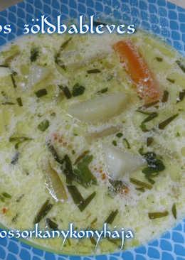 Citromos zöldbableves