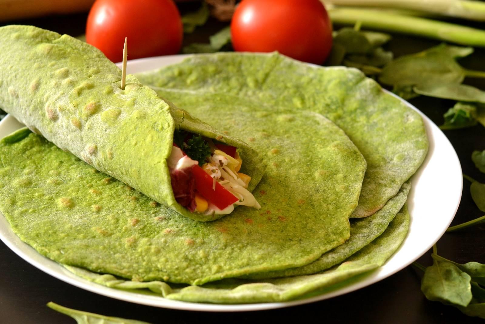 Spenótos tortilla recept főfotó
