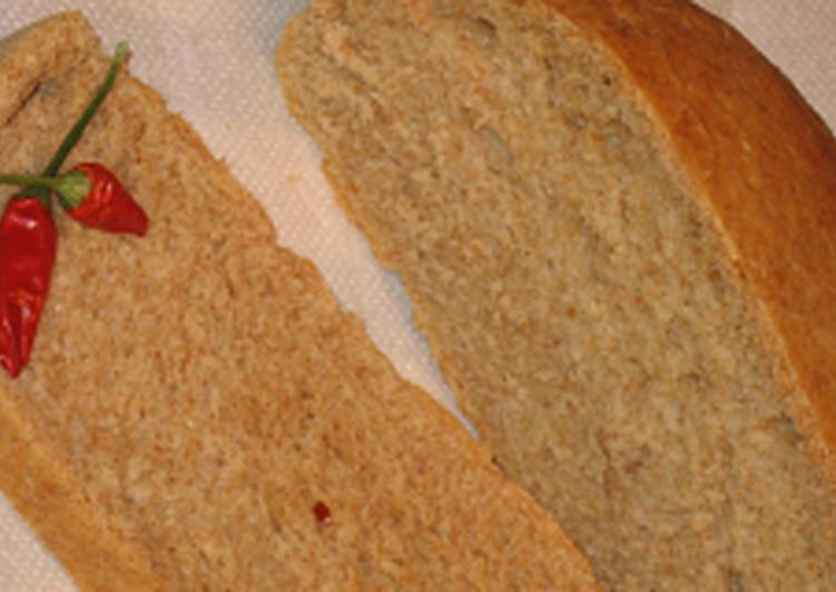 Chilis kenyér