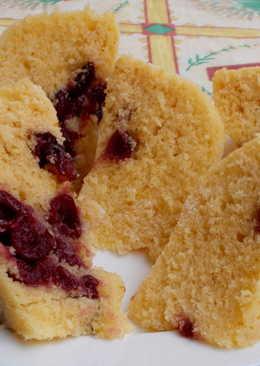 Joghurtos meggyes sütemény, mikróban sütve
