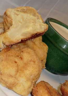 Rántott karfiol recept, sütőben sütve
