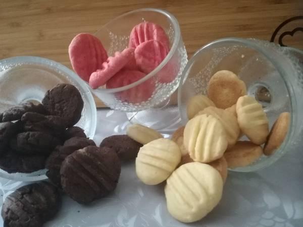 Vanília, csoki és puncs keksz 🍱