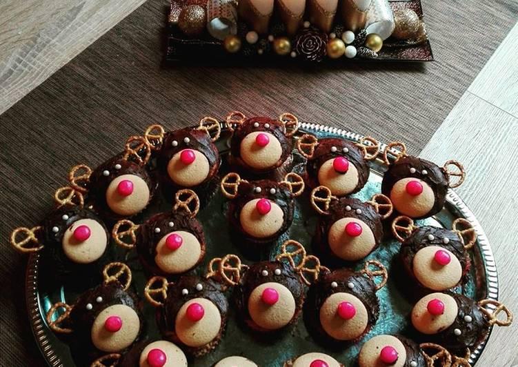 Rénszarvas muffin