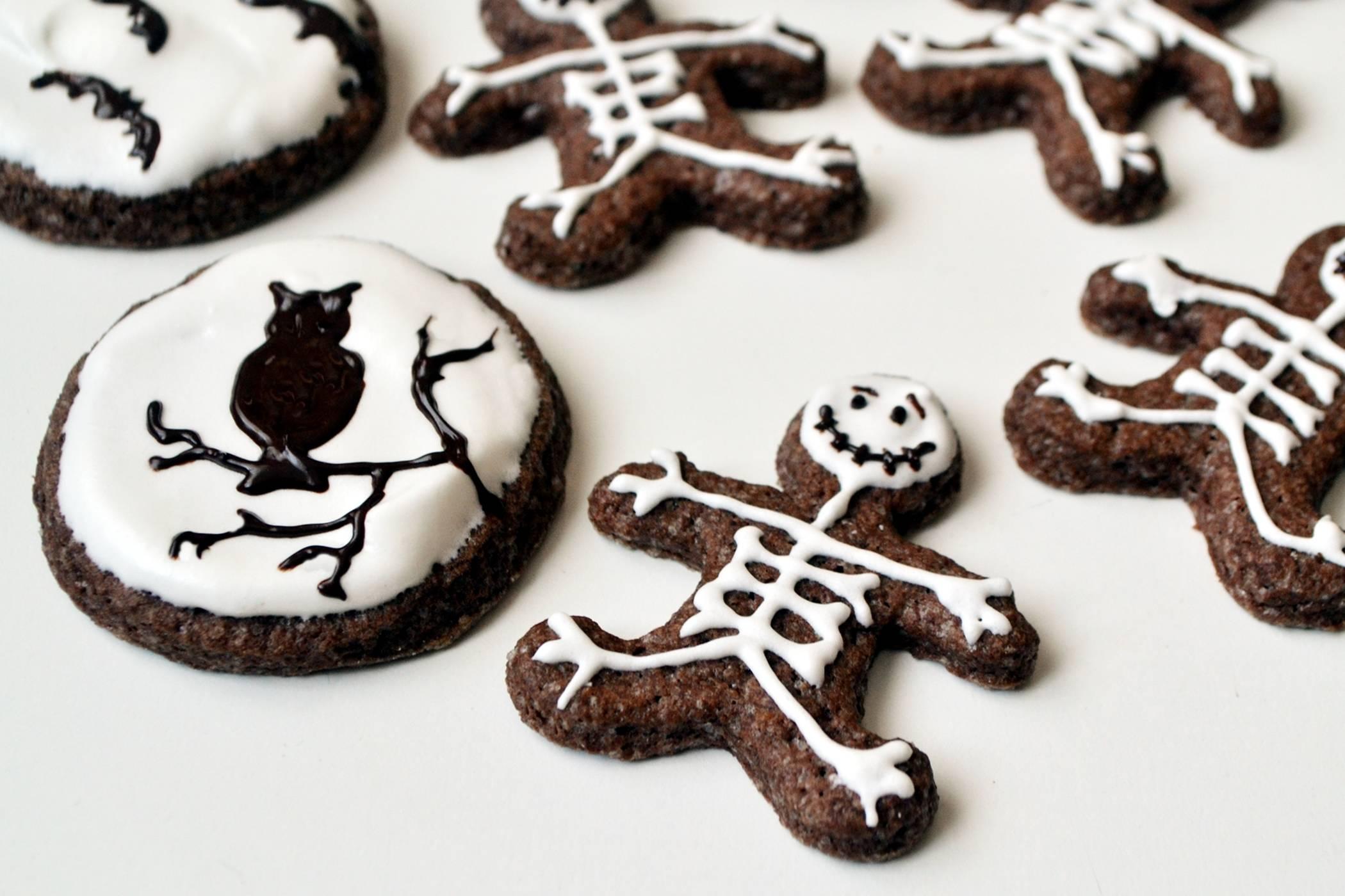 Halloween keksz recept főfotó