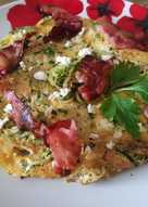 Cukkinis omlett