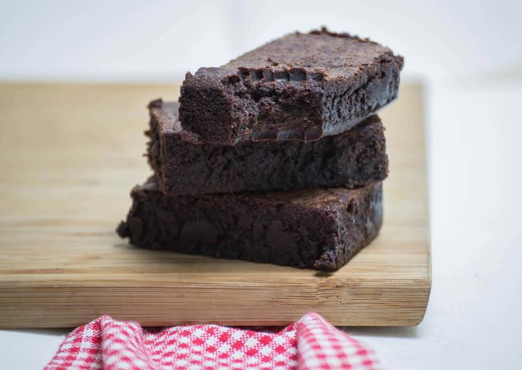 Céklás brownie