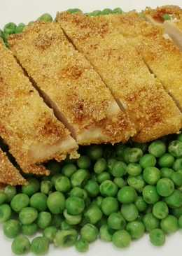 Mustáros-kukoricadarás csirkemellfilé