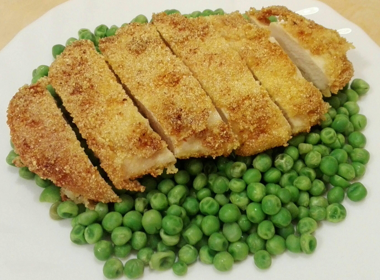 Mustáros-kukoricadarás csirkemellfilé főfotó