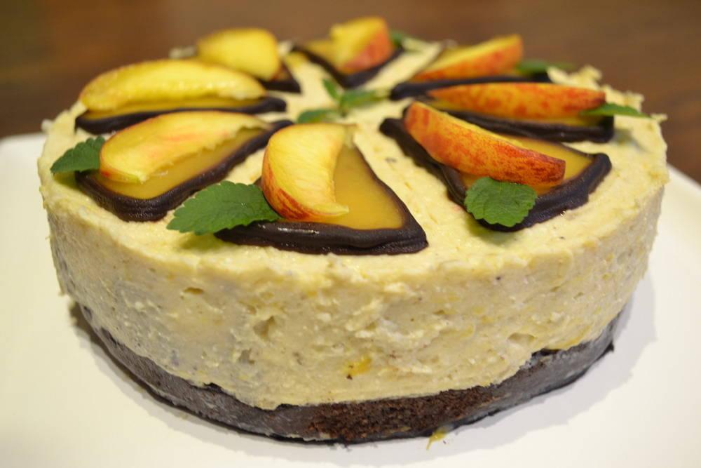 Fűszeres őszibarack torta recept főfotó