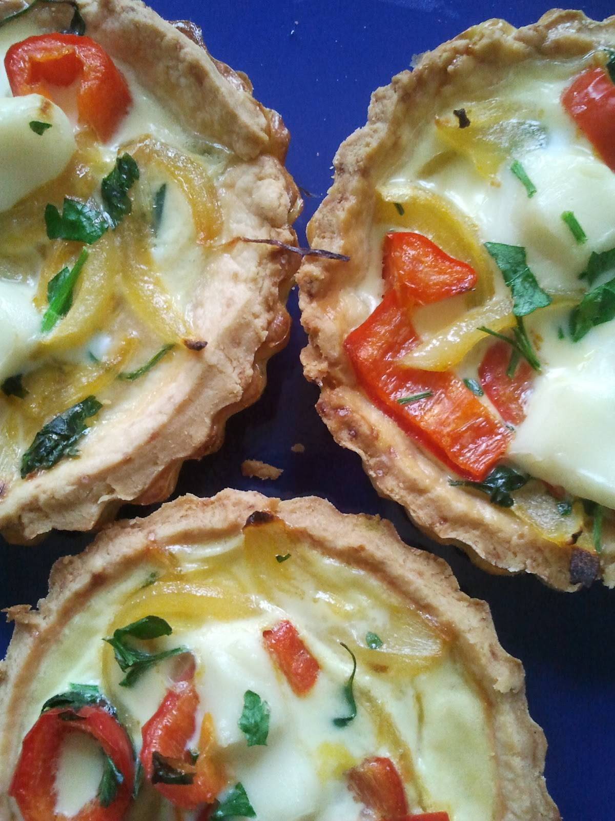 Zöldséges-sajtos quiche recept főfotó