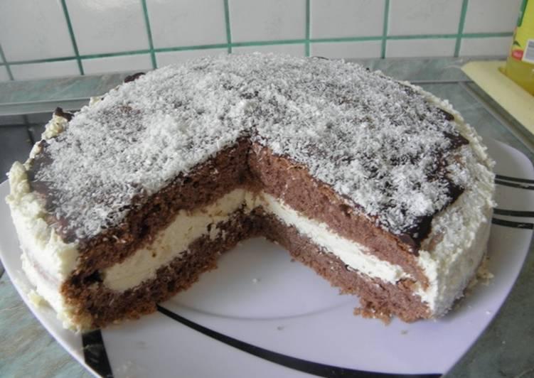 Gluténmentes hólabda torta