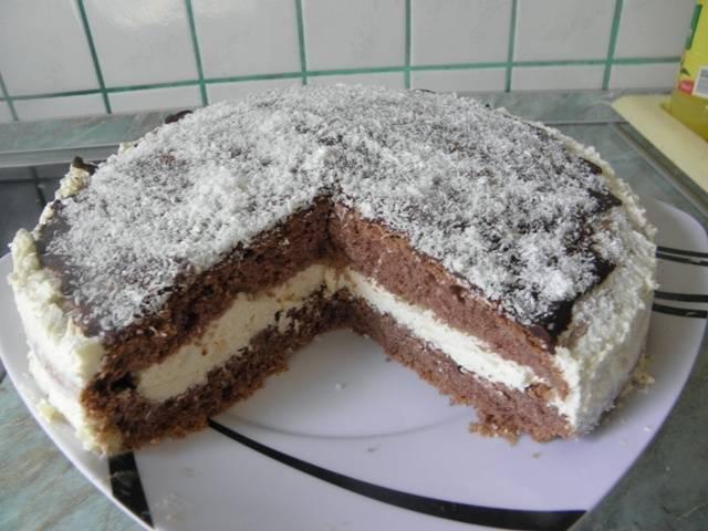 Gluténmentes hólabda torta recept főfotó