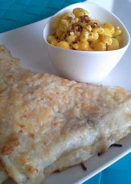Sütőben sült hal currys kukoricasalátával
