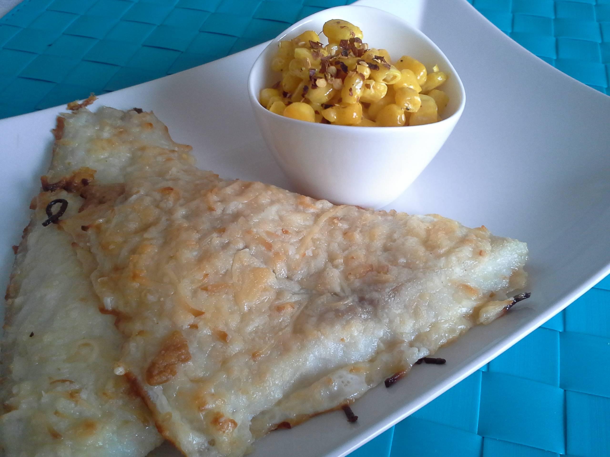 Sütőben sült hal currys kukoricasalátával főfotó