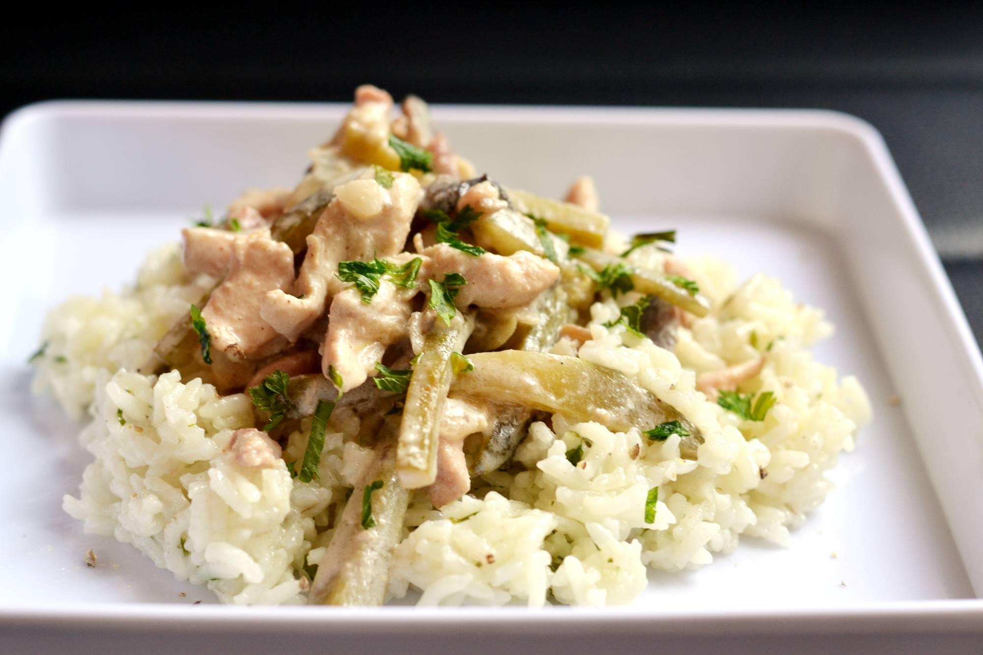 Sztroganoff csirkecsíkok recept főfotó