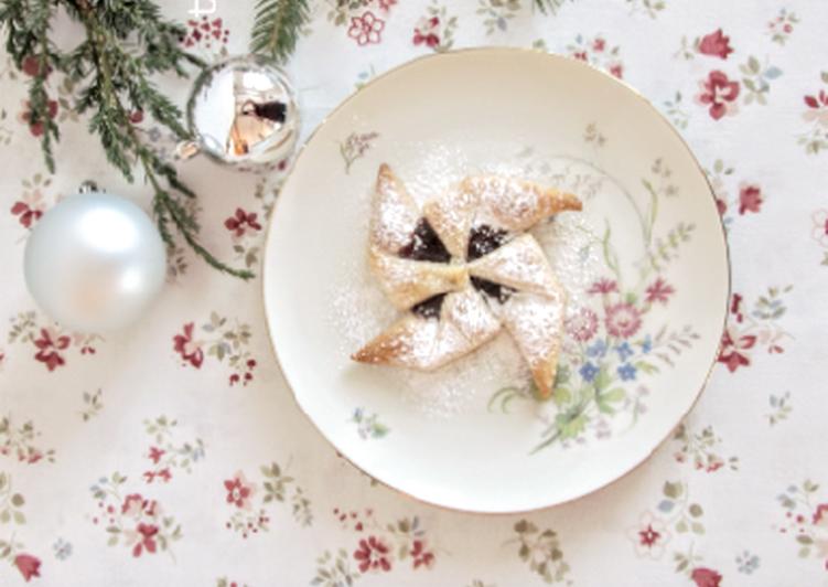 Joulutorttu,finn karácsonyi csillag