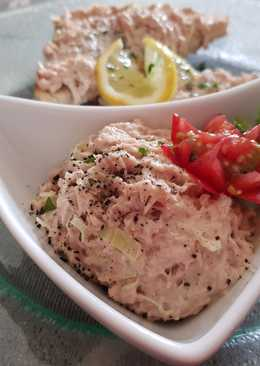 Majonézes tonhalkrém pirítóssal