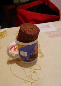 Kakaós, csokidarabos csészesüti