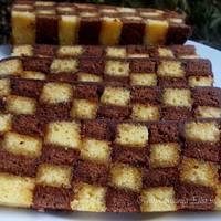 Sakktábla sütemény