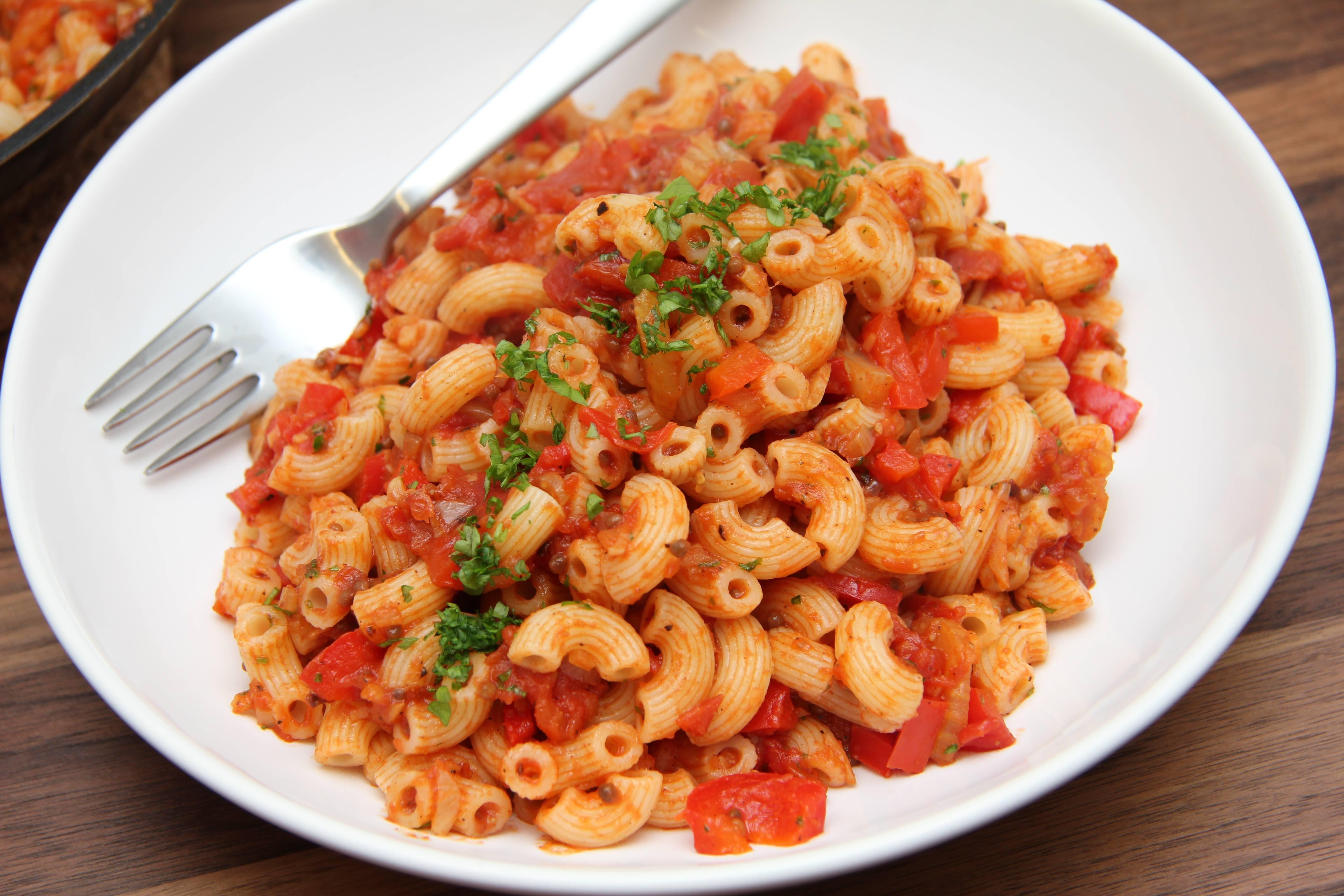 Masala macaroni recept főfotó