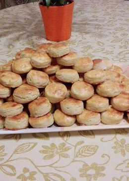 Farsangi krumplis pogácsa