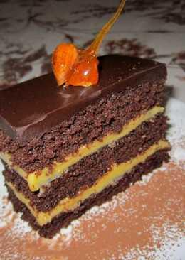 Narancskrémes csokoládékocka