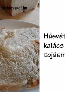 Húsvéti fahéjas almás kalács tej- és tojásmentesen