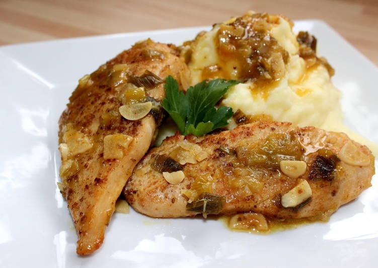 Pikáns fokhagymás csirke