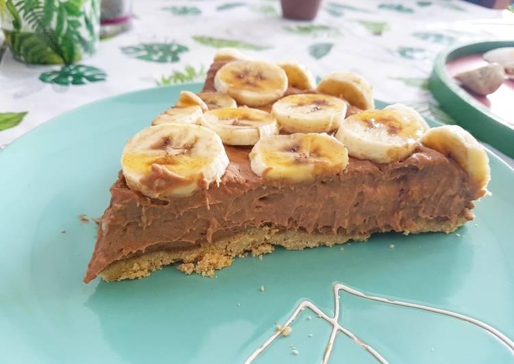 Diétás banános csokis torta