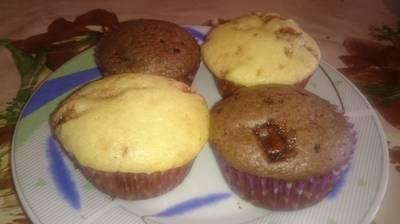 Egyszerű csokicsipszes muffin