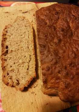 Saci dagasztás nélküli, zabpelyhes kenyere