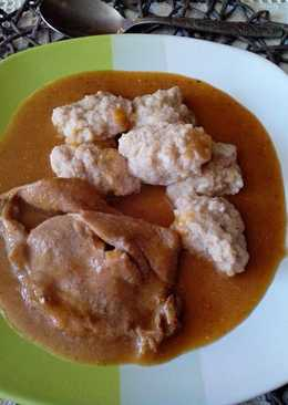 Vadas mártás sertéshússal, Kata módra