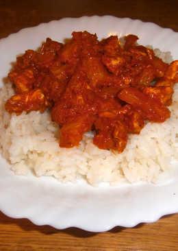 """""""Indiai"""" fűszeres csirke"""