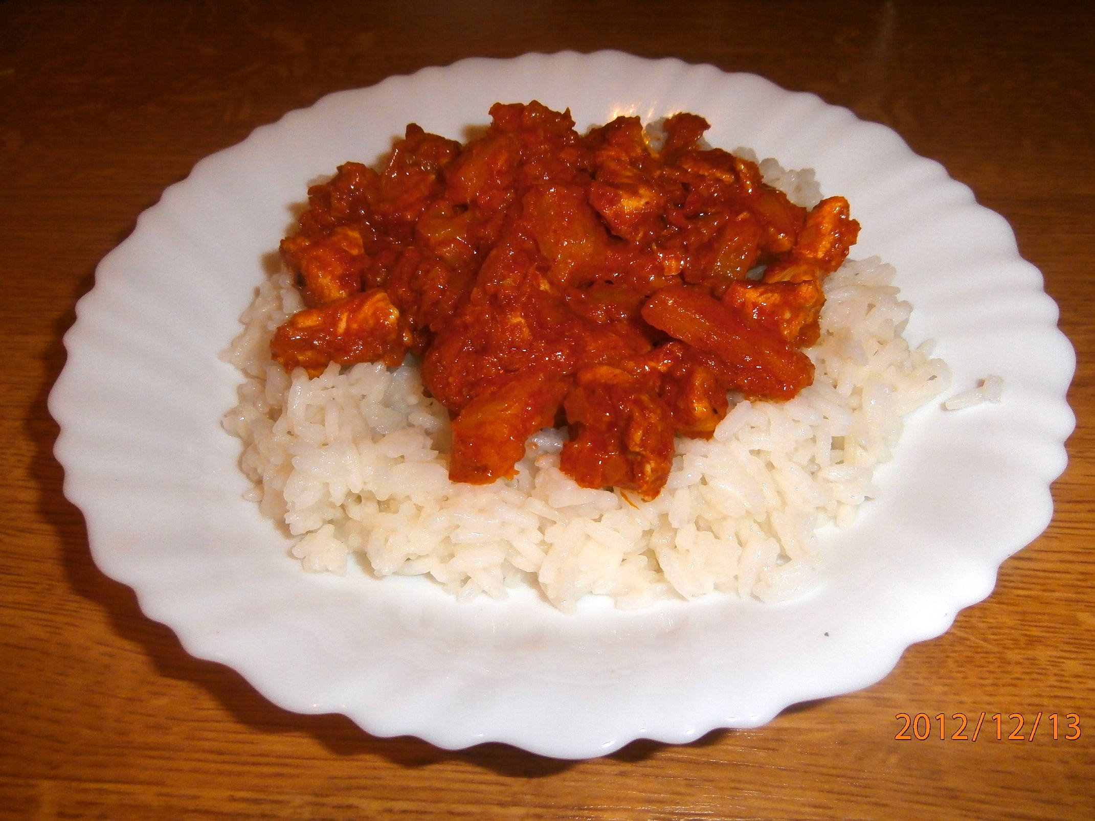 """""""Indiai"""" fűszeres csirke recept főfotó"""