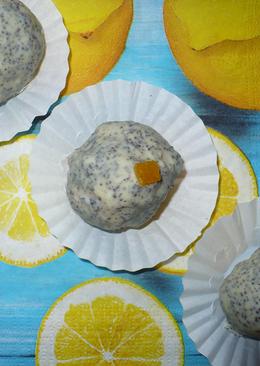 Citromkrémes kekszgolyó mákos fehércsokiban