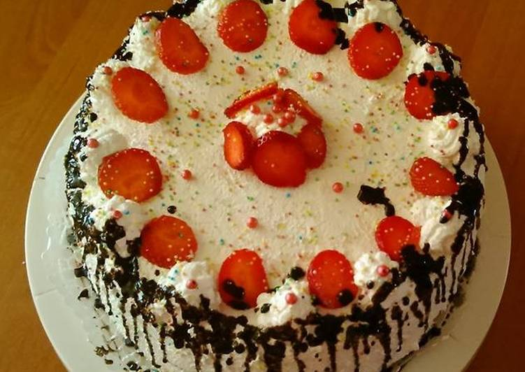 Epres tejszínes torta