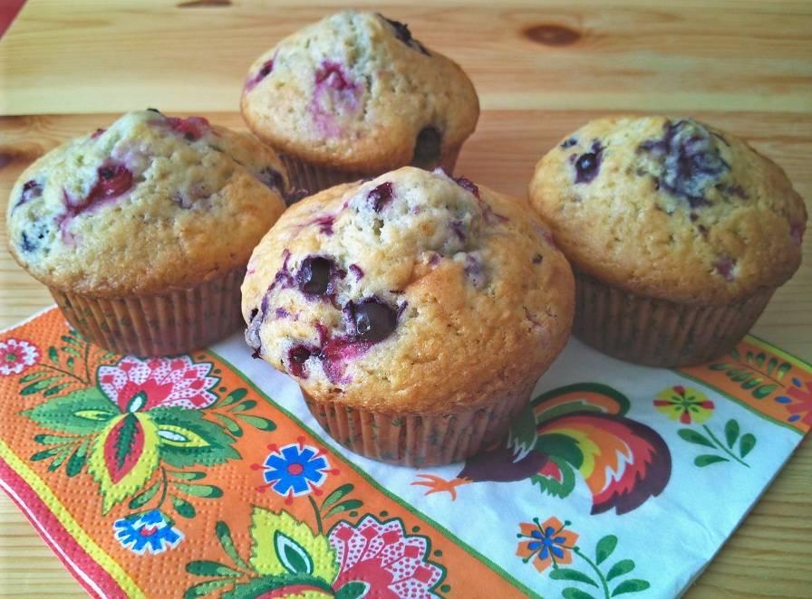 Erdei gyümölcsös muffin recept főfotó
