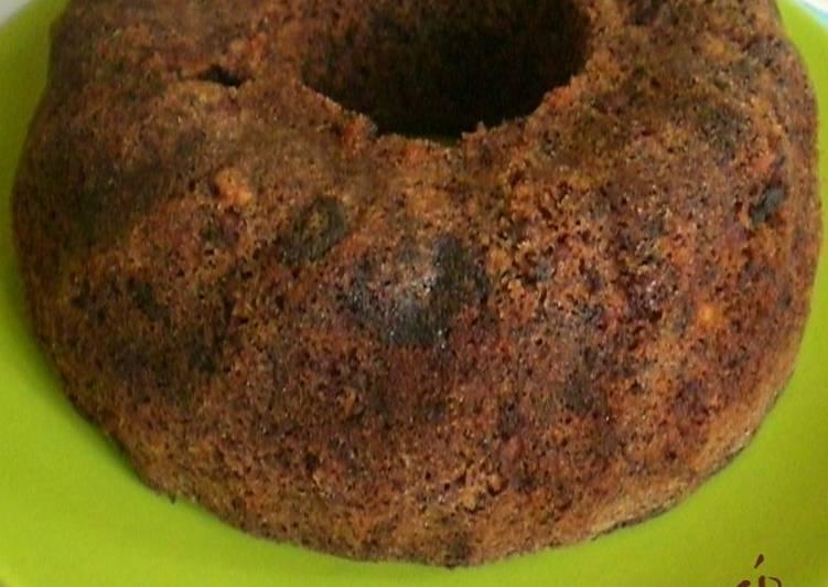Csokis-diós kuglóf