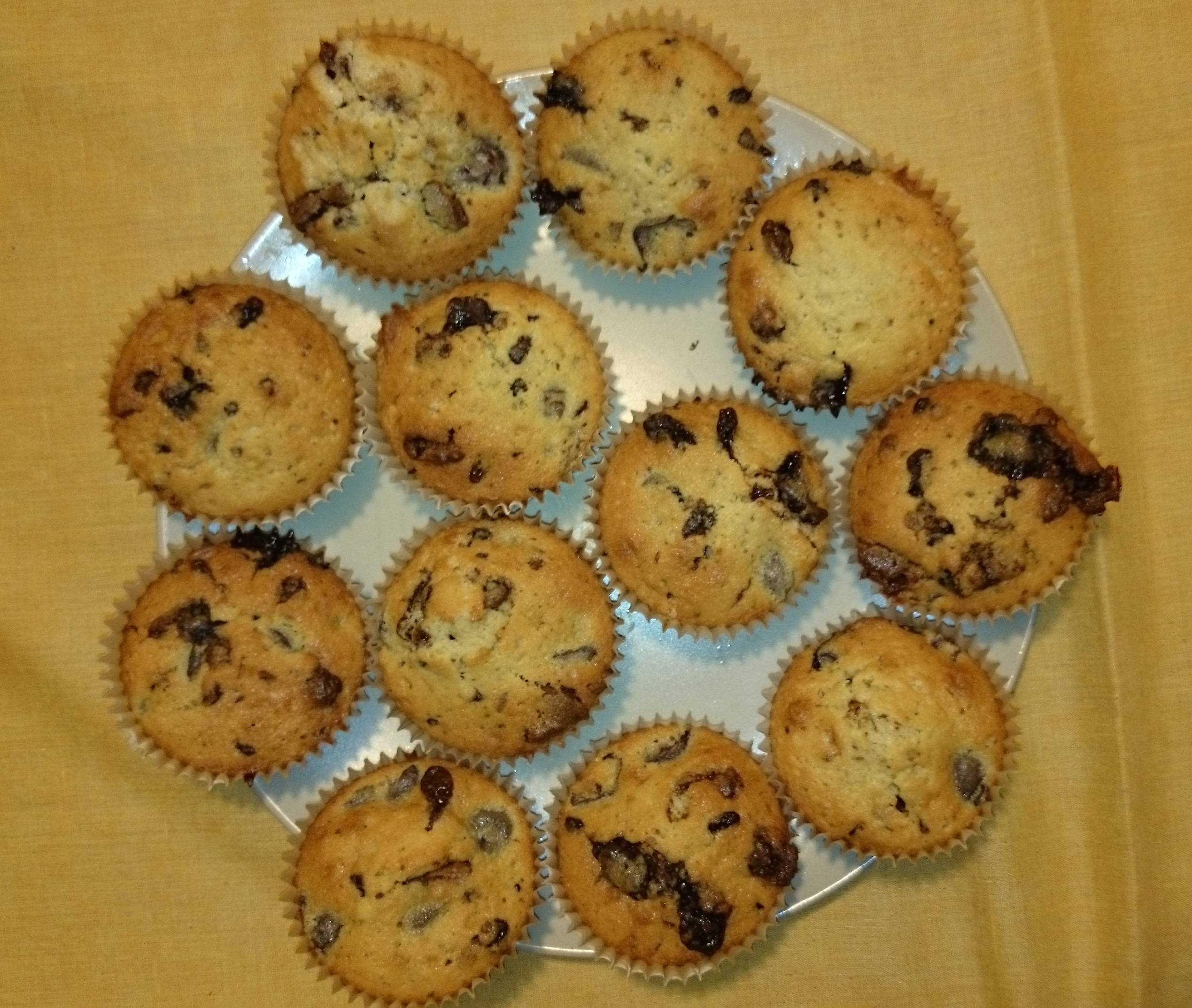 Csokis-meggyes muffin recept II. főfotó