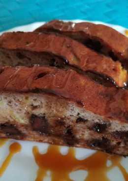 Csokis-vaníliás banánkenyér (gluténmentes)