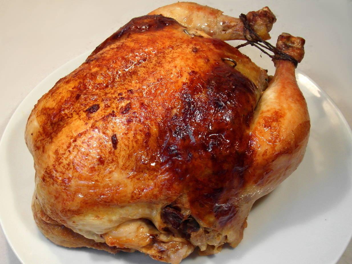 Egész töltött csirke recept főfotó