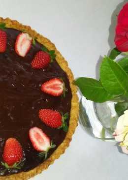 Csokis pite rebarbarával és szilvával