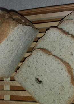 Gluténmentes fehér kenyér, kenyérsütőgépben sütve