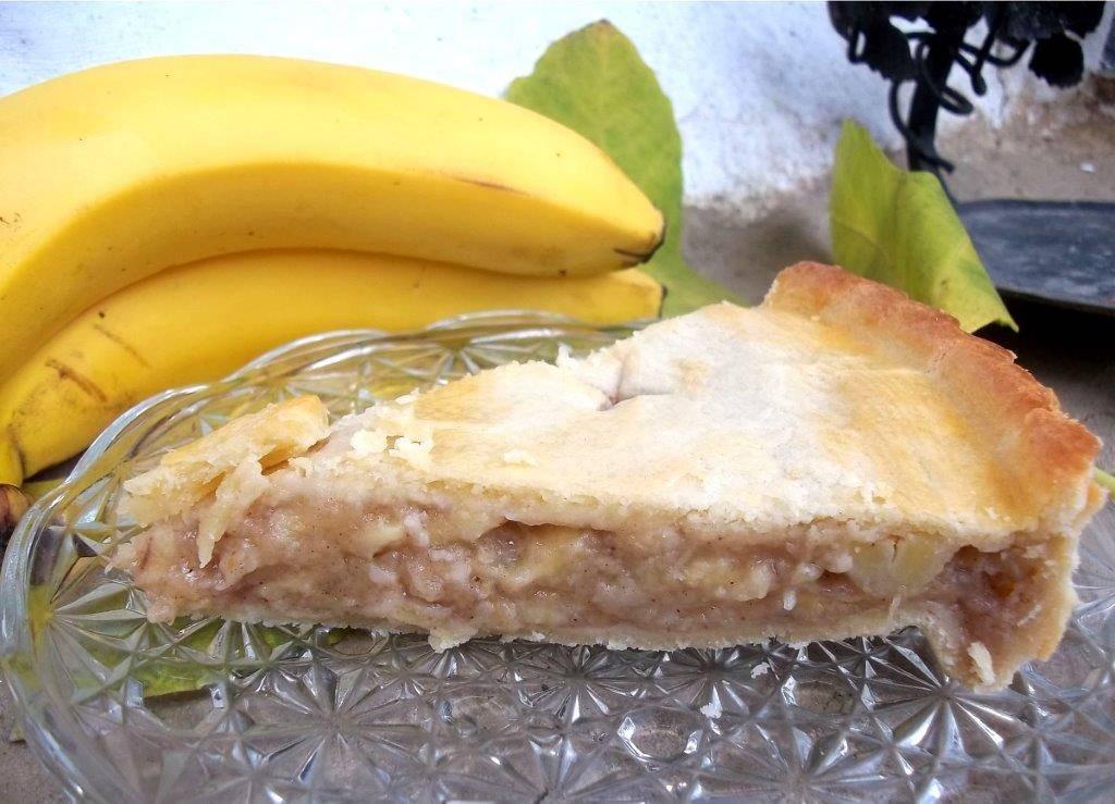 Banános pite recept főfotó