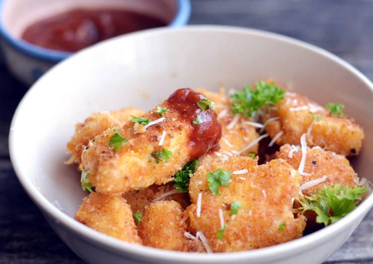Parmezános csirkefalatkák